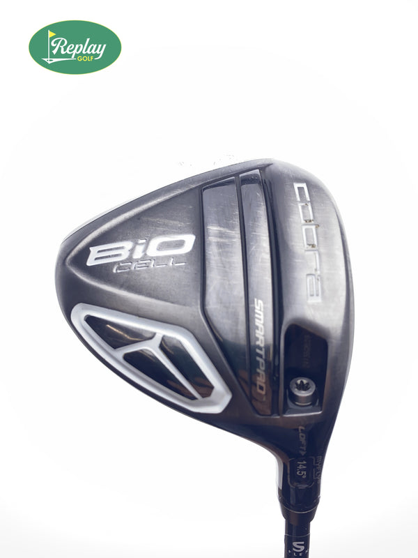 Cobra Bio Cell Silver 3 Fairway Wood / 14.5 Degrees / Stiff Flex - Replay Golf