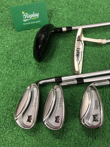 Lynx Silver Package Junior Set / Age 11-14 / 5 Clubs / NO BAG - Replay Golf