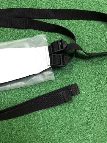 PXG Single White Bag Strap / New - Replay Golf
