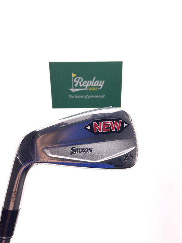 NEW Srixon ZX Utility 4 Utility / 22 Degree / UST Recoil F3 Regular Flex / LEFT Hand - Replay Golf