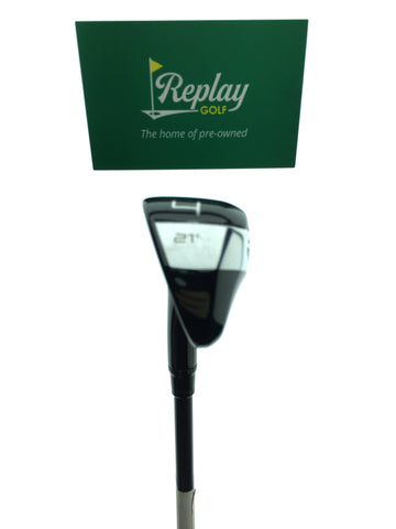 TaylorMade GAPR MID 4 Hybrid / 21 Degrees / KBS Hybrid FST 70 Regular Flex - Replay Golf