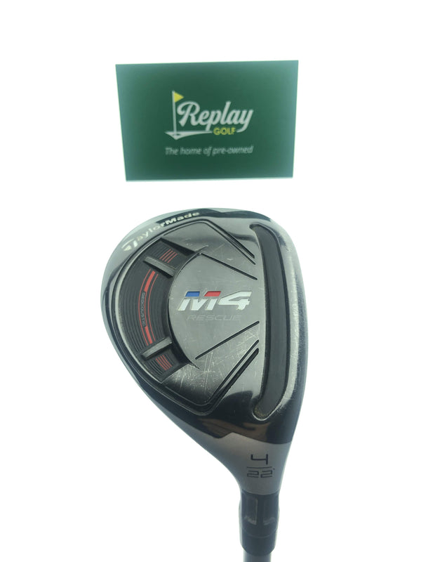 TaylorMade Ladies M4 4 Hybrid / 22 Degrees / TaylorMade Ultralite 45 Ladies Flex - Replay Golf