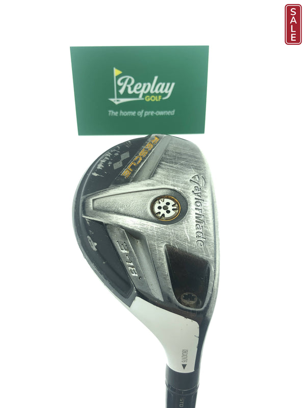 TaylorMade Rescue 11 3 Hybrid / 18 Degrees / UST Irod Stiff Flex - Replay Golf