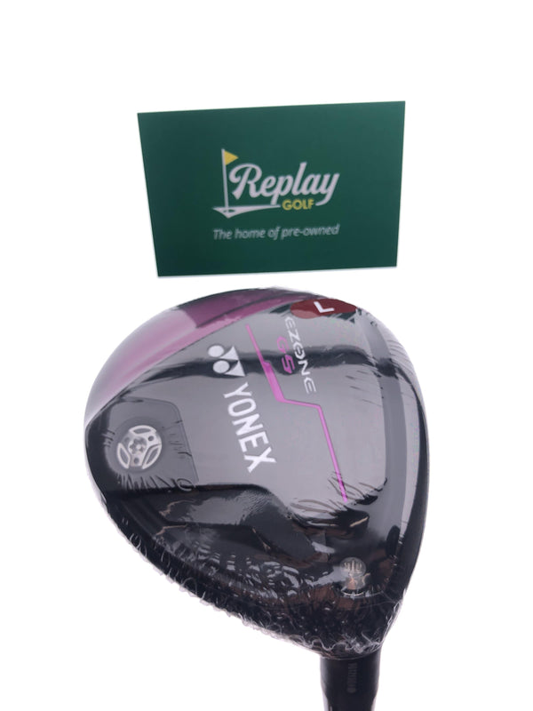 NEW Yonex Ezone GS 5 Fairway Wood / 21 Degrees / EX-330 Ladies Flex - Replay Golf