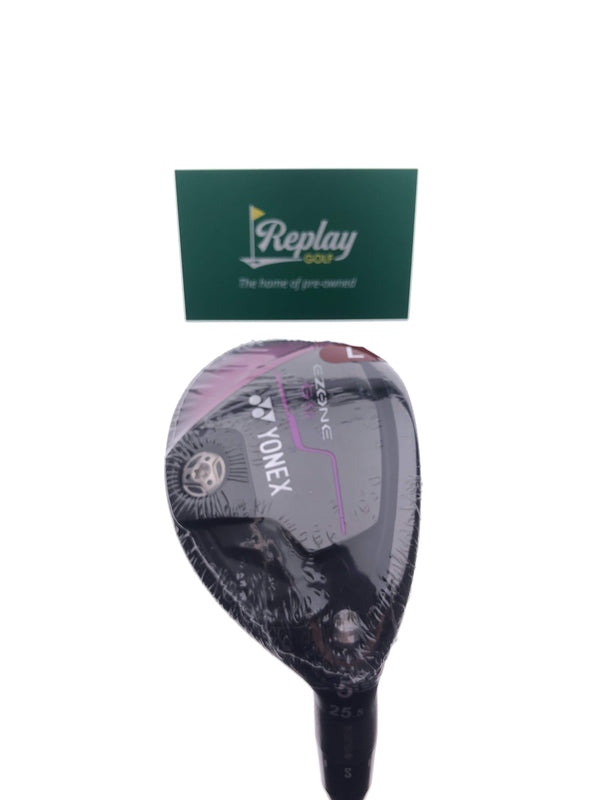 NEW Yonex Ezone GS 5 Hybrid / 25.5 Degrees / Yonex EX-330 Ladies Flex - Replay Golf