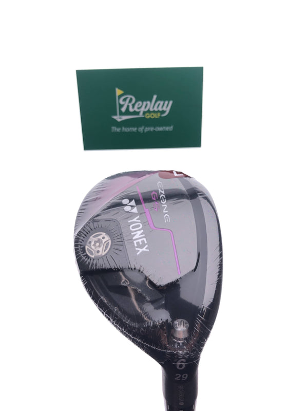 NEW Yonex Ezone GS 6 Hybrid / 29 Degrees / Yonex EX-330 Ladies Flex - Replay Golf