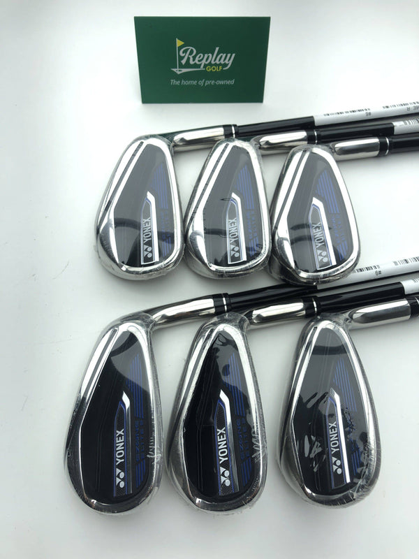 NEW Yonex Ezone Elite 2 Iron Set / 6-SW / Graphite M55 Regular Flex - Replay Golf