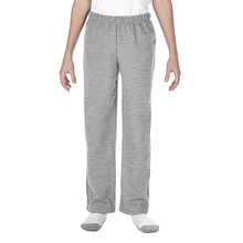 Load image into Gallery viewer, Pants - 18400B  YOUTH NO POCKET HEAVY BLEND OPEN BOTTOM SWEATPANTS