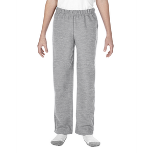 Pants - 18400B  YOUTH NO POCKET HEAVY BLEND OPEN BOTTOM SWEATPANTS