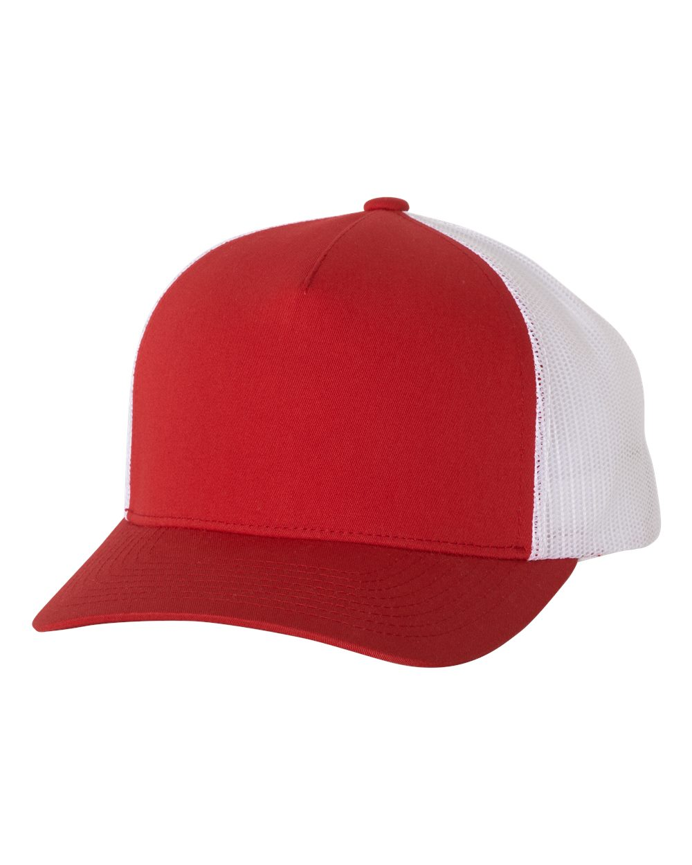 Hats - Five-Panel Retro Trucker Cap - 6506