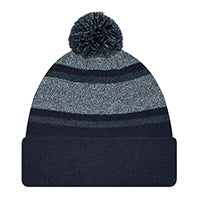 Load image into Gallery viewer, Headwear TOQUES 9M069M  Acrylic  - Cuff Toque (Pom Pom 8cm)