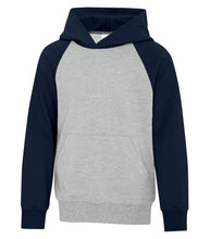 Load image into Gallery viewer, Hoodies - ATC™ EVERYDAY FLEECE TWO TONE YOUTH HOODIE. ATCY2550