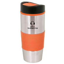 Load image into Gallery viewer, Drinkware - 500 ML. (17 OZ.) STAINLESS STEEL TRAVEL TUMBLER DA 4816