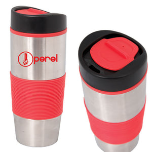 Drinkware - 500 ML. (17 OZ.) STAINLESS STEEL TRAVEL TUMBLER DA 4816