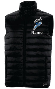 DRYFRAME® DRY TECH INSULATED VEST. DF7673 WITH NAME/LOGO