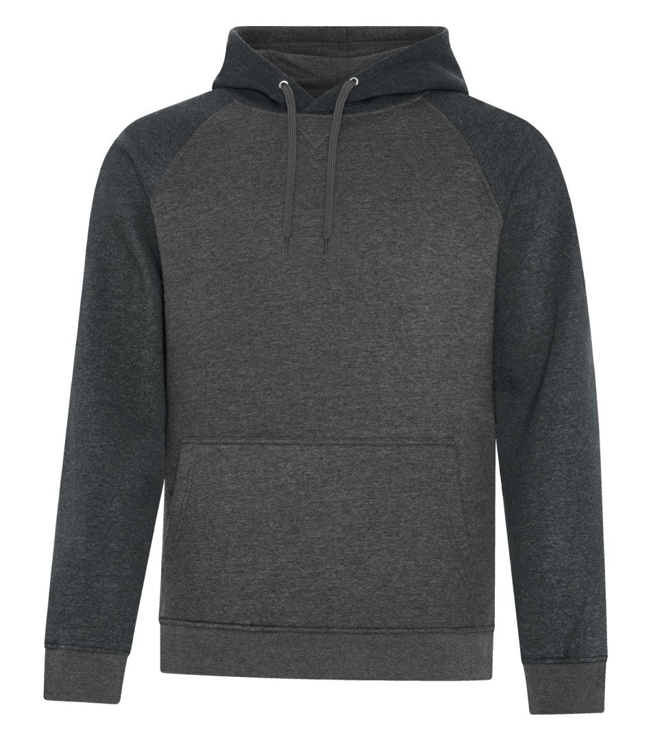 HOODIES ATC™ ESACTIVE® VINTAGE TWO TONE HOODED SWEATSHIRT. F2044