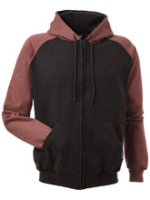 Load image into Gallery viewer, HOODIES Adult Retro Full Zip Hoodie KR4047