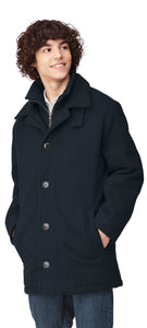 Youth Wool Overcoat