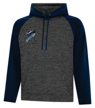 Load image into Gallery viewer, ATC™ DYNAMIC HEATHER FLEECE TWO TONE HOODED YOUTH SWEATSHIRT. Y2047