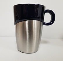 Two tone coffee mugs