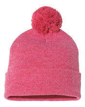 "Load image into Gallery viewer, Toques - Pom-Pom 12"" Knit Beanie - SP15"