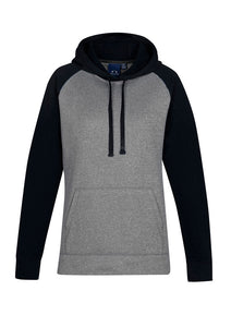 Hoodies - HYPE LADIES TWO TONE HOODIE  SW025L