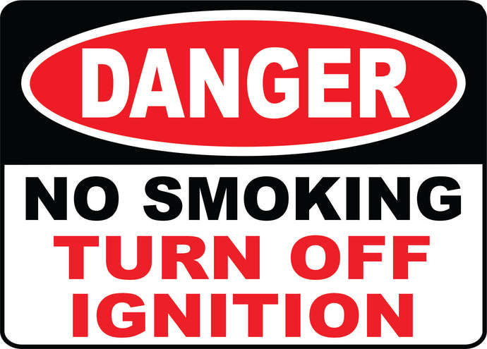Turn off Ignition sign