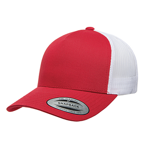 Headwear YU6506  FIVE PANEL RETRO TRUCKER
