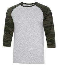 Load image into Gallery viewer, T-SHIRTS ATC™ EUROSPUN® RING SPUN BASEBALL TEE. ATC0822