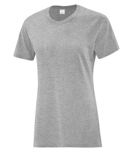 T-SHIRTS ATC™ EVERYDAY COTTON LADIES' TEE. 1000L