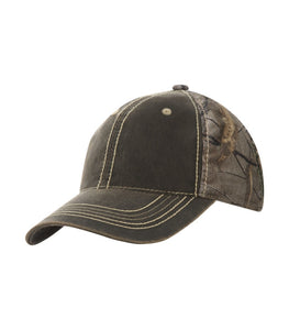 Headwear - ATC™ REALTREE® PIGMENT DYED CAMOUFLAGE CAP. C1313