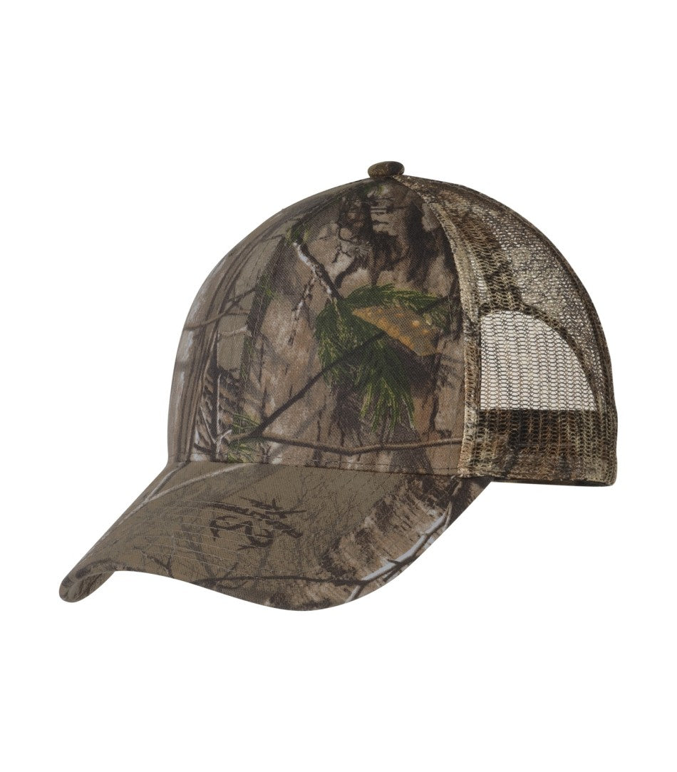 Headwear - ATC™ REALTREE® CAMOUFLAGE MESH BACK CAP. C1314