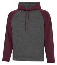 Load image into Gallery viewer, Hoodies - TC™ DYNAMIC HEATHER FLEECE TWO TONE HOODED YOUTH SWEATSHIRT. Y2047