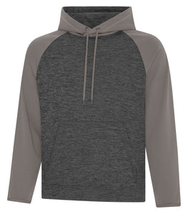 Hoodies - TC™ DYNAMIC HEATHER FLEECE TWO TONE HOODED YOUTH SWEATSHIRT. Y2047