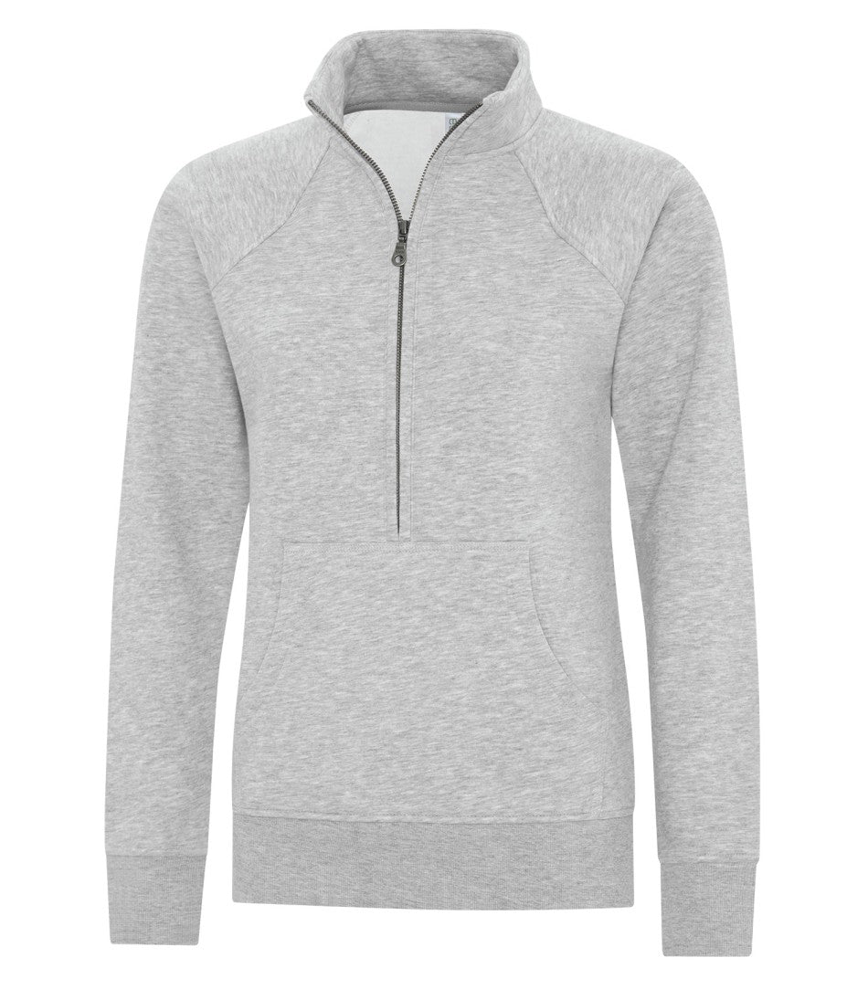 JACKETS ATC™ ESACTIVE® VINTAGE 1/2 ZIP LADIES' SWEATSHIRT. L2042