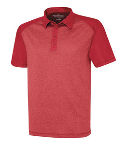 Polo shirts - ATC™ PRO TEAM HEATHER ProFORMANCE COLOUR BLOCK SPORT SHIRT. S3531