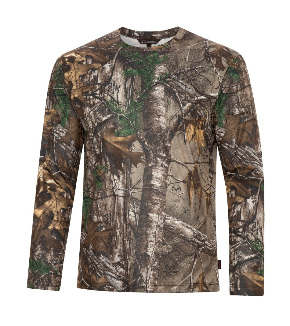 T-shirts - ATC™ REALTREE® TECH LONG SLEEVE TEE. S3548LS