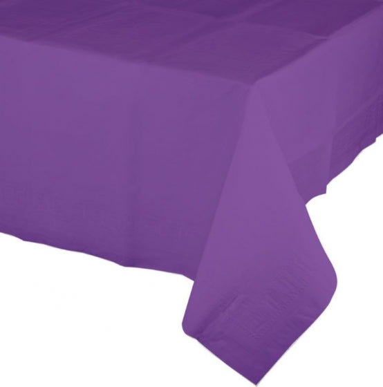 Amethyst Purple Tablecover Tissue & Plastic Back