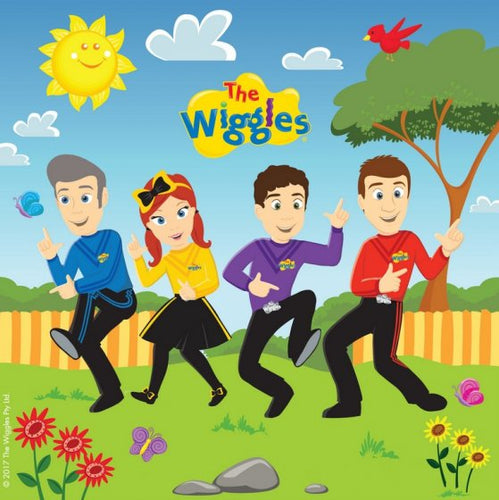 The Wiggles Lunch Napkins