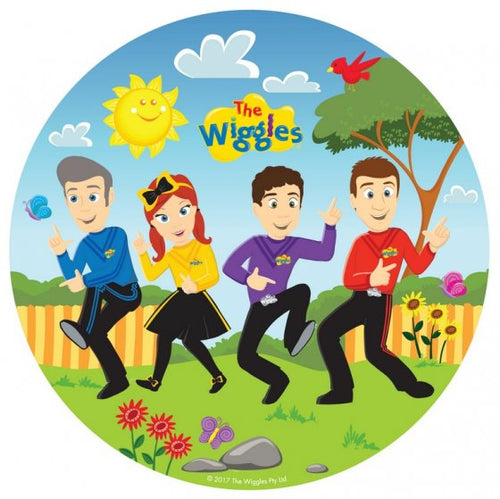 The Wiggles Circle Paper Plates