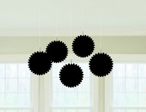 Mini Fan Decoration (Black)