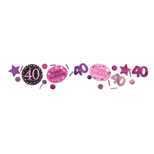 Pink Celebration 40 Confetti 34g