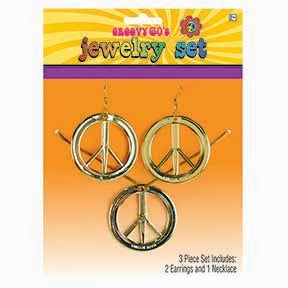 Feeling Groovy Peace Jewellery Set
