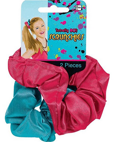Awesome 80s Scrunchies 2 Pack