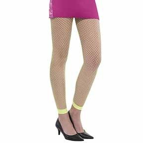 fefc8c2d3d23b Awesome 80s Fishnet Leggings Neon – Kingdom Party House