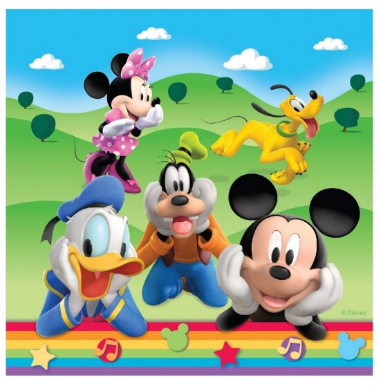 Mickey Mouse Lunch Napkins
