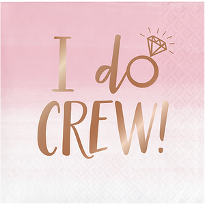 *I Do Crew Beverage Napkins