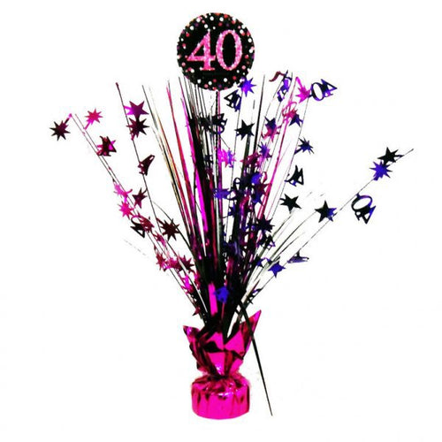 Pink Celebration 40 Centrepiece Spray