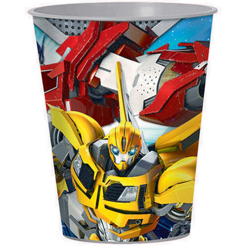 *Transformers Core 473ml Plastic Cup