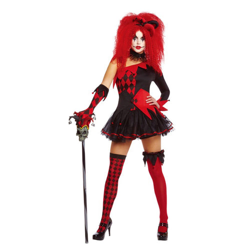 Jesterina Costume Medium Adult